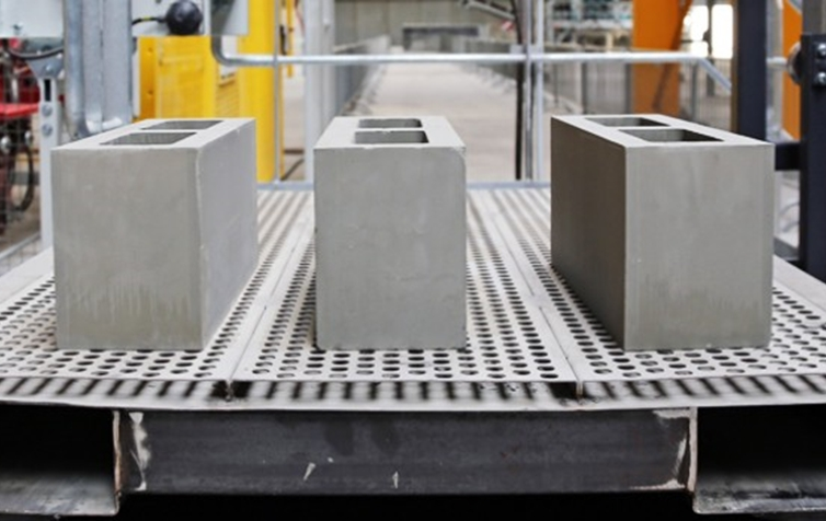 Cover figure: hollow concrete blocks made of steel slag by accelerated carbonation