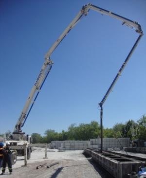 Pumping of concrete